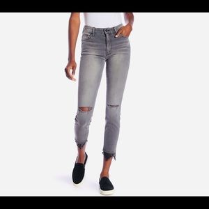 FINAL PRICE MOTHER high waist ankle skinny jeans
